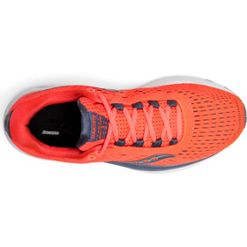 saucony Jazz 20 Shoes Women Vizipro Red/Grey